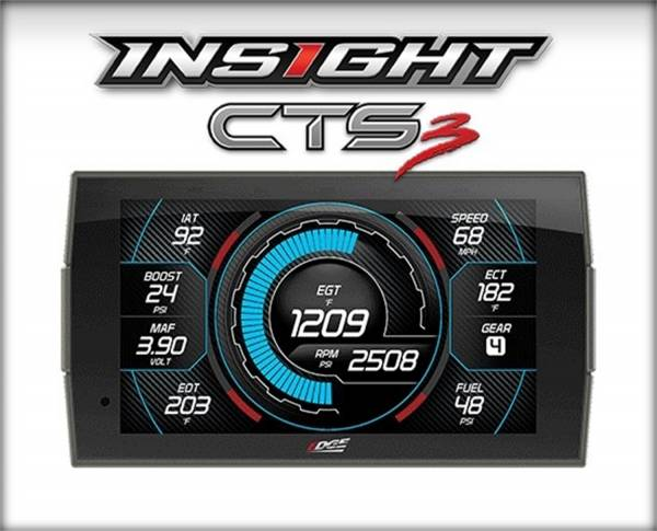 Edge Products - Edge Products Insight CTS3 Digital Gauge Monitor 84130-3