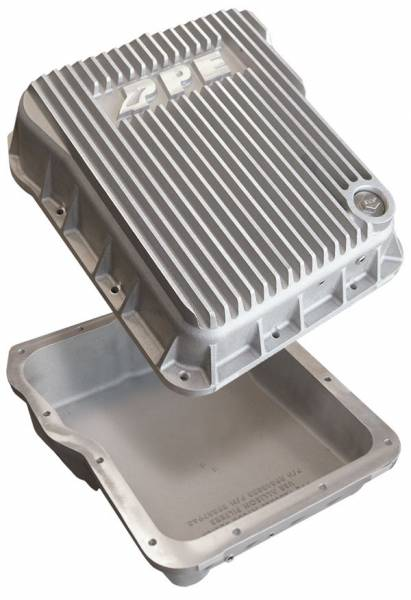 PPE - PPE STANDARD PROFILE ALUMINUM TRANSMISSION PAN - 2001-2019 GM 6.6L DURAMAX (EQUIPPED WITH ALLISON 1000 / 2000 / 2400)