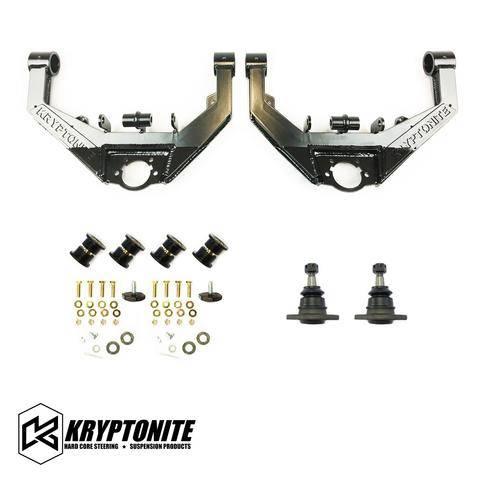 "Kryptonite Products - Kryptonite - Upper Control Arm Kit ""STG2 Dual Shock"" GM 01-10"