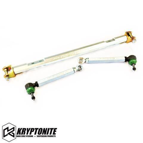 Kryptonite Products - Kryptonite - Race Series Center Link Tie Rod Package GM 01-10 (not for street use)