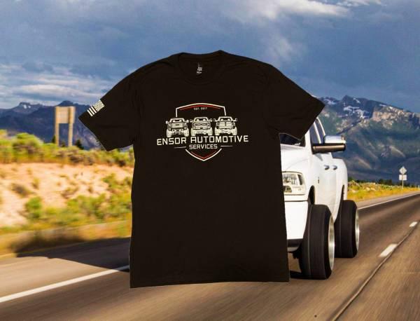 Ensor Automotive Services - EAS logo tee