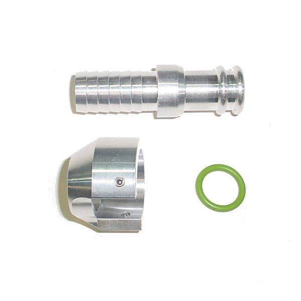 Glacier Diesel - Glacier Diesel Billet Standpipe Heater Hose Adapter Cummins 13-18