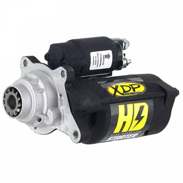 XDP - XDP Black HD Gear Reduction Starter 6.4L Powerstroke