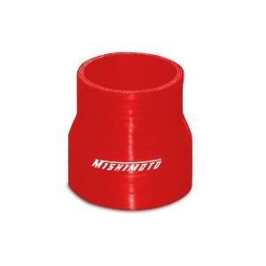 """Mishimoto Mishimoto 2.25"""" to 2.5"""" Silicone Transition Coupler, Various Colors MMCP-22525RD"""