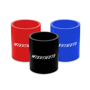 "Mishimoto Mishimoto 2.25"" Straight Coupler, Various Colors MMCP-225SBK"