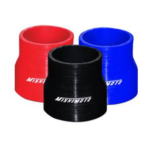 """Mishimoto Mishimoto 2.5"""" to 3"""" Silicone Transition Coupler, Various Colors MMCP-2530BK"""