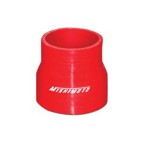 """Mishimoto Mishimoto 2.5"""" to 3"""" Silicone Transition Coupler, Various Colors MMCP-2530RD"""