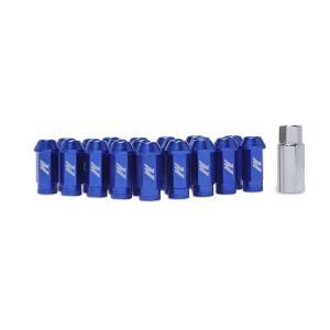 Mishimoto Mishimoto Aluminum Locking Lug Nuts, M12 x 1.25, Blue MMLG-125-LOCKBL