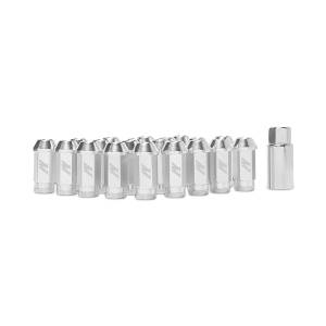 Mishimoto Mishimoto Aluminum Locking Lug Nuts, M12 x 1.25, Silver MMLG-125-LOCKSL