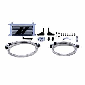 Mishimoto Ford Fiesta ST Oil Cooler Kit, 2014-2019 Silver Non-Thermostatic MMOC-FIST-14
