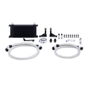 Mishimoto Ford Fiesta ST Oil Cooler Kit, 2014-2019 Black Non-Thermostatic MMOC-FIST-14BK