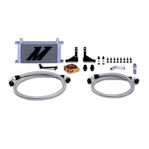 Mishimoto Ford Fiesta ST Oil Cooler Kit, 2014-2019 Silver Thermostatic MMOC-FIST-14T