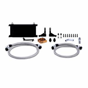Mishimoto Ford Fiesta ST Oil Cooler Kit, 2014-2019 Back Thermostatic MMOC-FIST-14TBK