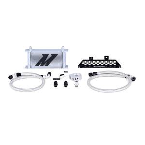 Mishimoto Ford Focus ST Oil Cooler Kit, 2013-2018 Silver Non-Thermostatic MMOC-FOST-13