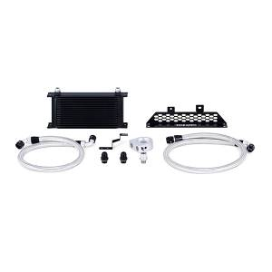 Mishimoto Ford Focus ST Oil Cooler Kit, 2013-2018 Black Non-Thermostatic MMOC-FOST-13BK