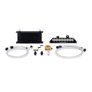 Mishimoto Ford Focus ST Oil Cooler Kit, 2013-2018 Black Thermostatic MMOC-FOST-13TBK