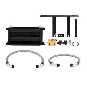 Mishimoto Hyundai Genesis Coupe 2.0T Thermostatic Oil Cooler Kit, Black MMOC-GEN4-10TBK