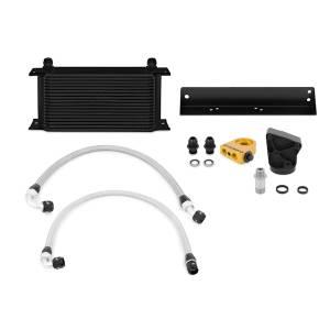 Mishimoto Hyundai Genesis Coupe 3.8L Thermostatic Oil Cooler Kit, Black MMOC-GEN6-10TBK