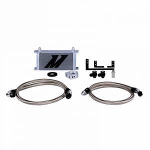 Mishimoto Mazda Miata Oil Cooler Kit, 2016+, Silver, Non-thermostatic MMOC-MIA-16