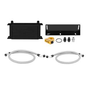 Mishimoto Ford Mustang 5.0L Thermostatic Oil Cooler Kit, Black MMOC-MUS-79TBK