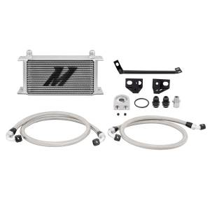 Mishimoto Ford Mustang EcoBoost Oil Cooler Kit, 2015-2017, Silver MMOC-MUS4-15