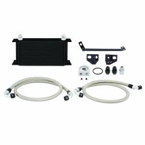 Mishimoto Ford Mustang EcoBoost Oil Cooler Kit, 2015-2017, Black MMOC-MUS4-15BK