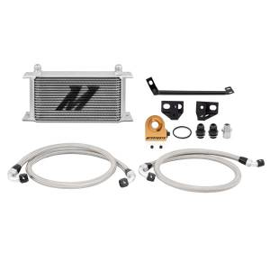 Mishimoto Ford Mustang EcoBoost Thermostatic Oil Cooler Kit, 2015-2017, Silver MMOC-MUS4-15T