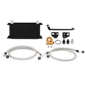 Mishimoto Ford Mustang EcoBoost Thermostatic Oil Cooler Kit, 2015-2017, Black MMOC-MUS4-15TBK