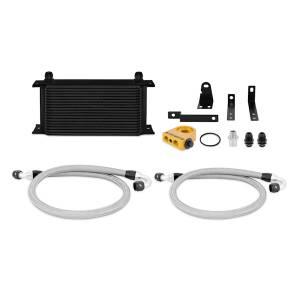 Mishimoto 2000-2009 Honda S2000 Thermostatic Oil Cooler Kit, Black MMOC-S2K-00TBK