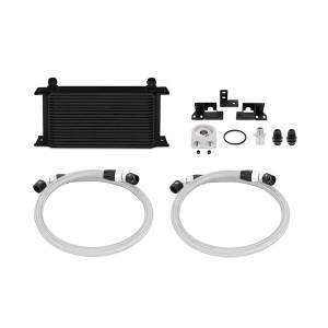 Mishimoto Jeep Wrangler JK Oil Cooler Kit, 2007-2011 MMOC-WRA-07BK