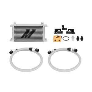 Mishimoto Jeep Wrangler JK Thermostatic Oil Cooler Kit, 2007-2011 MMOC-WRA-07T