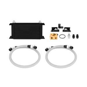 Mishimoto Jeep Wrangler JK Thermostatic Oil Cooler Kit, Black, 2007-2011 MMOC-WRA-07TBK