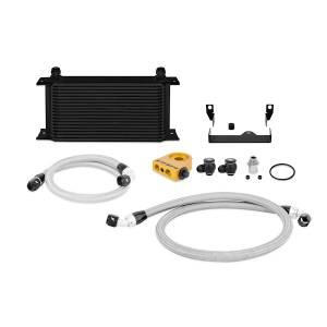 Mishimoto 2006-2007 Subaru WRX/STi Thermostatic Oil Cooler Kit, Black MMOC-WRX-06TBK