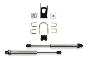 Fabtech Dual Dirt Logic 2.25 Stainless Steel Steering Stabilizer Kit FTS220512