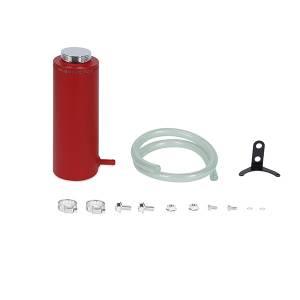 Mishimoto Aluminum Coolant Reservoir Tank, Wrinkle Red MMRT-CAWRD