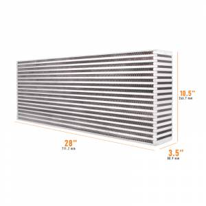 Mishimoto Universal Air-to-Air Race Intercooler Core MMUIC-01