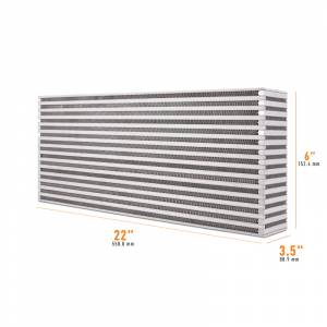 Mishimoto Universal Air-to-Air Race Intercooler Core MMUIC-09