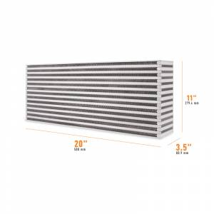 Mishimoto Universal Air-to-Air Race Intercooler Core MMUIC-13
