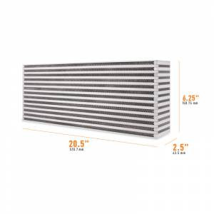 Mishimoto Universal Air-to-Air Race Intercooler Core MMUIC-15