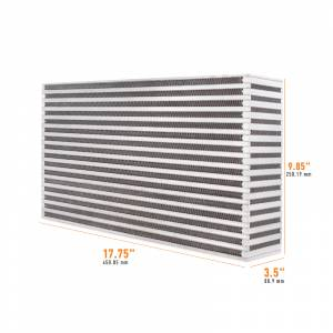 Mishimoto Universal Air-to-Air Race Intercooler Core MMUIC-17