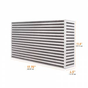 Mishimoto Universal Air-to-Air Race Intercooler Core MMUIC-18