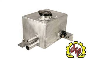 Deviant Race Parts LMM Fabricated Coolant Tank for Twin Turbo Trucks 74600