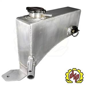 Deviant Race Parts LLY/LBZ Fabricated Coolant Tank for Twin Turbo Trucks 74610