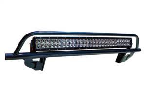N-Fab Light Mounting-Light Bar (1-30) w/Multi-Mnt-17-20 F250/350 w/AC-Gloss Blk F1730LD-AC