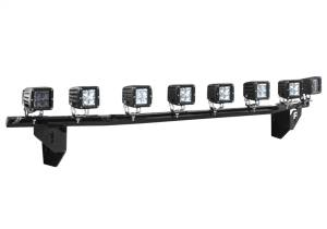 N-Fab Light Mounting-Light Bar (1-30) w/Multi-Mnt-17-20 F250/350 w/oAC-GlossBlk F1730LD
