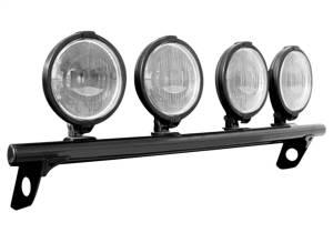 N-Fab Light Mounting-Light Bar (4-9)-09-14 F150-Gloss Blk F094LB
