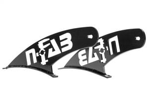 N-Fab Light Mounting-Roof Mounts-(1-50 Series)-97-03 (04 Htg) F150-TX Blk F9750LR-TX