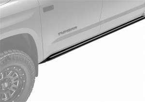 N-Fab RKR Rails-Cab Len (2 Steps)-18-20 Wrangler JL 2Dr-TX Blk J182RKR