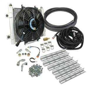 BD Diesel Xtruded Auxiliary Transmission Oil Cooler Kit 1030606-3/8
