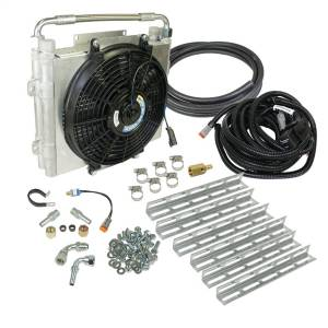 BD Diesel Xtrude Double Stacked Auxiliary Transmission Cooler Kit 1030606-DS-12